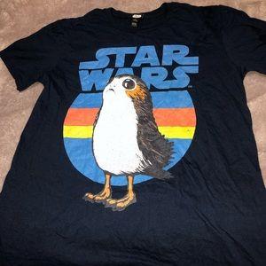 Star Wars Black Short Sleeve Shirt